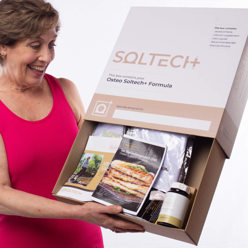 Osteoporosis Treatment: Osteo Soltech+ for Women